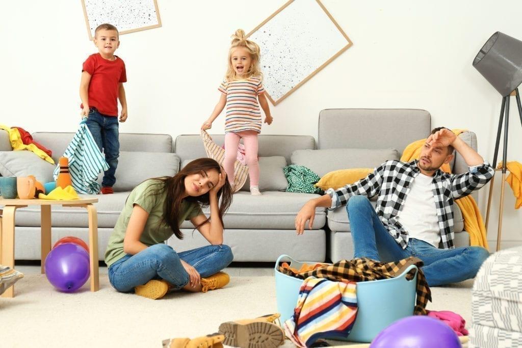 Wie überstehst du als Mutter die Corona Quarantäne mit deiner gestresste Familie? Update 1