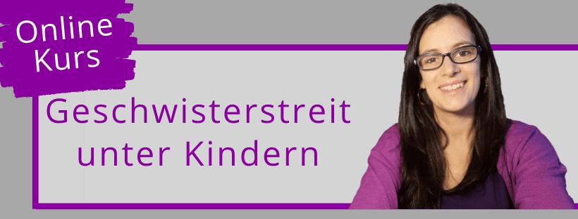 Geschwisterstreit unter Kindern - Online Kurs - Produktbild