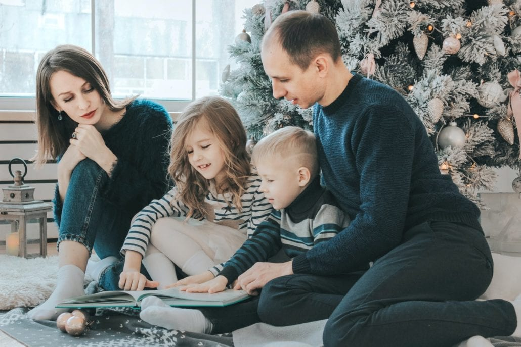 Glückliche Familie - Online Kurs FamilyFlowMagic - Harmonie in der Familie als entspannte Mutter